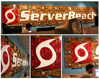 ServerBeach Motherboard Sign