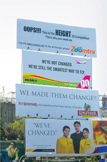 Outdoor advertising India