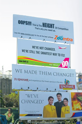 Outdoor advertising India