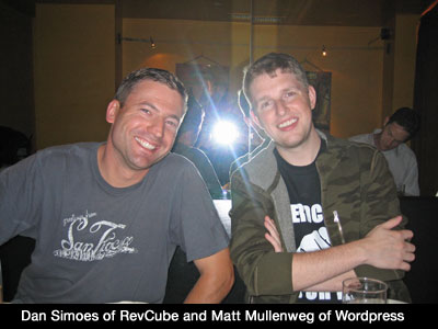 Dan Simoes and Matt Mullenweg