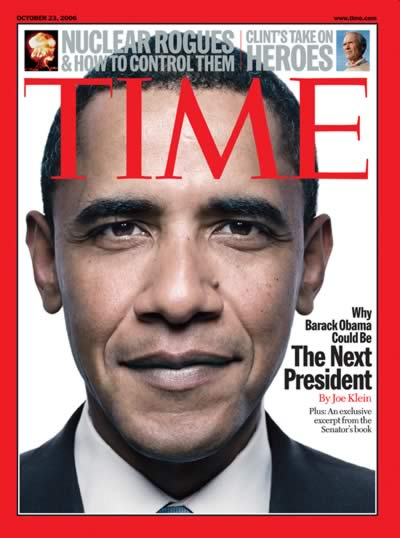 Barack Obama Time Magazine Cover