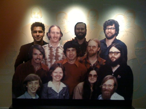 The original founders of Microsoft... and a token brown guy.